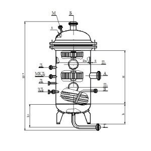 Газосепаратор 1-го типа