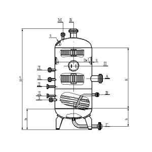 Газосепаратор 2-го типа