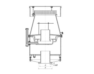 Клапан предохранительный гидровлический КПГ