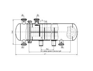 Аппарат теплообменный с U-образными трубами